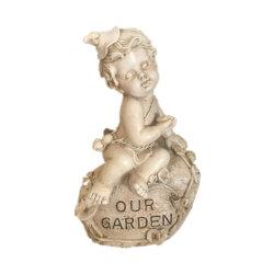 樹脂の屋内屋外の宗教装飾のための宗教天使の庭の彫像の置物