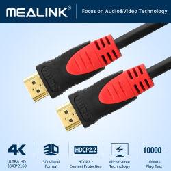 2.0V Connecteur Gold-Plated Transfert Audio & Vidéo Câble HDMI vers HDMI (YLC201B)