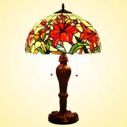 Vente chaude Tiffany Vintage laiton décoration intérieure de la lampe de lampe de table