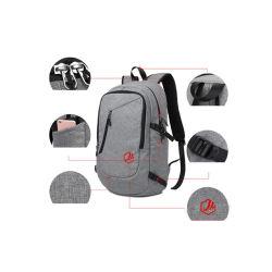 Zaino del computer portatile, sacchetto del calcolatore di corsa per le donne & uomini, anti banco resistente Bookbag dell'istituto universitario dell'acqua di furto