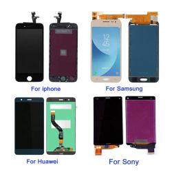 Haute qualité couleur TFT LCD OLED Jeu&pour iPhone/Samsung/Huawei/Xiaomi/oppo/VIVO/Tecno/Zte téléphone mobile de remplacement de l'écran LCD/pièces de l'écran LCD de téléphone mobile