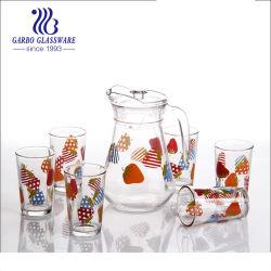 1.3L de Geplaatste Kruik en de Tuimelschakelaars van het Water van het Glas van de druk