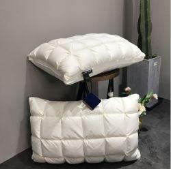 Cuscino del collo di memoria del cuscino della piuma dell'oca del cuscino dell'hotel delle cinque stelle