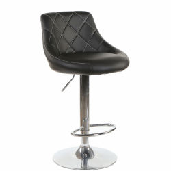 Hot Sale Accueil Mobilier Adjustble PU Chaise haute chaise de bar en cuir des tabourets de bar
