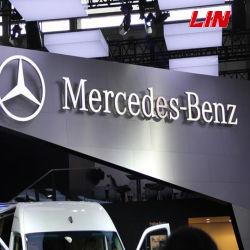 Logo de la marque de voiture signe, PANCARTE, Hall ou l'utilisation avant de fabrication / poli miroir exquis d'éclairage LED auto