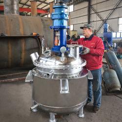 Produtos de polimerização/fotoquímicos do/fenol com agitação contínua Tanque de aquecimento eléctrico Química de lote de Aço Inoxidável Preço dos reactores
