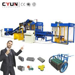 Строительство цементного4-15 Qt конкретные автоматические полого кирпича бумагоделательной машины блока цилиндров