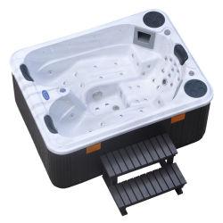Kingston Hot Sale Mini Fontaine à eau Couvercle de l'escalier baignoire Jacuzzi Spa Hot Tubs (KGT-JCS-33)