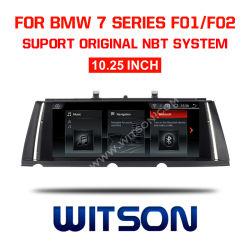 """Grand écran Witson BMW Android 9.0 voiture 10,25 DVD """" pour BMW série 7 F01 F02 (2013-2015) NBT"""