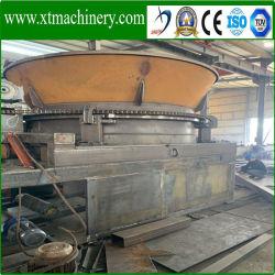 Poids de la machine 9.5ton, bois de rendement de travail stable Tree Stump Machine de coupe
