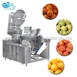 Cer-anerkannte industrielle automatische Gas-elektrische amerikanische Karamell-Käse-Popcorn-Hersteller-Maschinen-Popcorn-Produktions-Maschinerie-preiswerter Preis