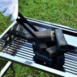 Sin Humo de suministro de aserrín de madera o bambú / Carbón de leña para barbacoa de carbón de leña para barbacoa