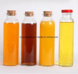 زجاجيّة باردة شراب [وتر بوتّل] مع معدن غطاء أو فلّين