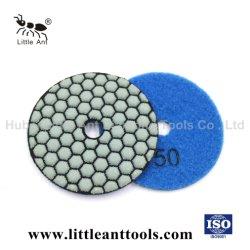 Diamant bearbeitet steife Polierauflagen für trockenen konkreten Polierfußboden