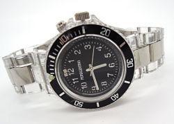 Mode Kunststoff-Quartz-Promotion Uhren mit 3 ATM Wasserabweisend