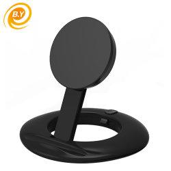 Qi cargador inalámbrico Teléfono móvil Teléfono Celular del receptor de carga inalámbrica Pad plegable para iPhone y Samaung
