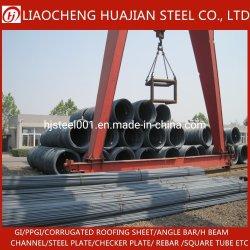 Fe500 HRB500 Hastes de ferro vergalhão de aço para construção de barra de aço deformado/Prédio