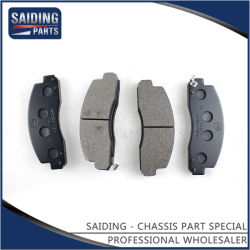 Auto Parts Disc Brake Pads für Toyota Coaster mit Soem 04465-36090