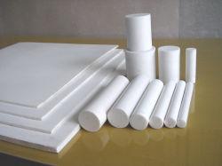 100%年バージンPTFEシート、白く、黒いカラー(3A3001)のPTFE棒の