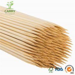 Brochettes de fruits de gros de bambou avec une bonne qualité