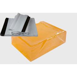 Bulle d'air en plastique PE Poly Express Courier Enveloppe postale Mailer Sac adhésif psa colle hot melt