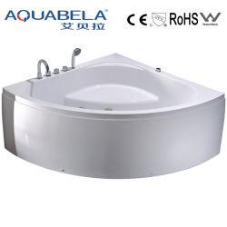 Bagno d'angolo acrilico della STAZIONE TERMALE della vasca di bagno della bolla idro (JL810)
