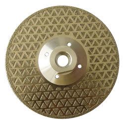 Il diamante elettrolitico la lama per sega con il doppio rivestimento del fronte (JL-EDBF)