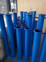 De teflon Gevoerde Blauwe Spoel van de Spoel van het Staal van de Pijp PTFE van de Flens van de Pijp van het Koolstofstaal Rechte