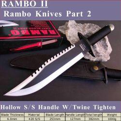 (람보 II) 제2부 라보2 전투 칼