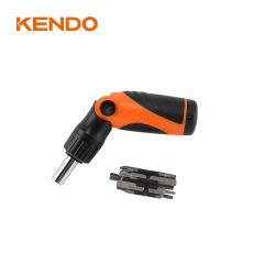 Kendo 14 PC CRV chave de roquete com bits substituível