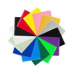 옥외 자동 접착 비닐 광택 장 스티커 다중 색깔 및 Inkjetable 백색 비닐 이동