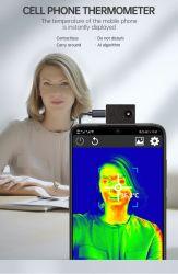 Thermomètre infrarouge de téléphone cellulaire téléphone mobile Téléphone mobile de pièces de l'imageur thermique infrarouge de la caméra Caméra thermique de la température corporelle