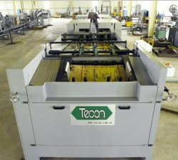 Valve Paper Bag Package Machinery를 위한 Tecon High Speed Automatic Pasted Bottom Machine