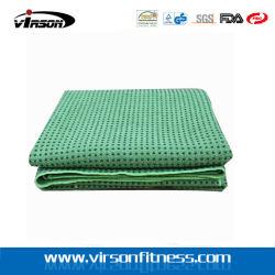 "Silicon Nubs 24 "" X 68 ""를 가진 Skidless Premium Yoga Mat Towel"