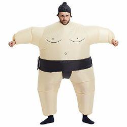 Engraçado Japaness insufláveis lutador de Sumo fato para parte do Dia das Bruxas