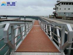 China fabricados en aleación de aluminio de alta calidad y pasillo Pontoon