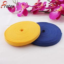 Diferentes colores y mayorista de poliéster de alta calidad de cintas de sarga