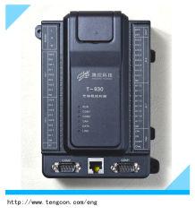 Analoog Input-output PLC Controlemechanisme t-930 (16AI 8AO) met Vrije Software en de Server van Portlandcement