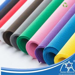 Commerce de gros rouleau de tissu Non-Woven, l'emballage sur spunbond non tissées, Fluorescent PP non tissé