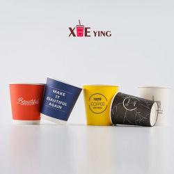 La mousse de polystyrène les tasses de papier personnalisé pour les liquides chauds Café/thé avec couvercle