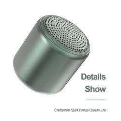 Venda quente Professional V5.0 Super Mini estéreo Colunas Tws portátil verdadeiro alto-falante Bluetooth sem fio