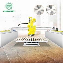 Máquina de Corte da Borda da pedra ponte CNC máquina de corte de Mármore Granito Serra para processamento de Pedra