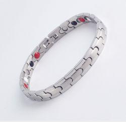 Monili magnetici di titanio di energia del braccialetto delle donne degli uomini