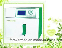 K+, Na+, Cl+; Ca++ elemento químico del cuerpo del analizador de electrolitos