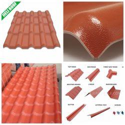 Résine synthétique Jieli PVC Feuille de toit