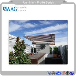 Asiatisches Aluminiumgefäß mit allen Größen-und Aluminium-Teil-Bauteilen und Aluminiumprofil-Fenster-und Tür-und Aluminium-Profil-Zwischenwand