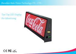 Такси /Car верхней части крыши цифровой перемещение сообщения на экране рекламы для использования вне помещений дисплей со светодиодной подсветкой