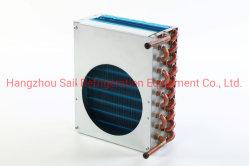 맞춤형 코퍼 튜브 알루미늄 핀 유형 콘덴서 코일 열 교환기