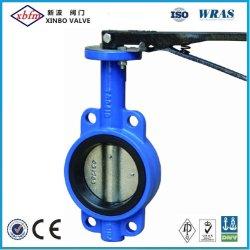OEM/ODM завод по производству полупроводниковых пластин типа осевой линии двухстворчатый клапан (без PIN)