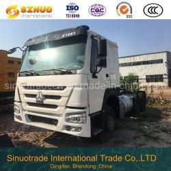 사용된 371HP 6X4 Sinotruk HOWO 트럭 트레일러 헤드 트랙터 헤드 10X는 나미비아를 위한 트랙터 트럭을 또는 탄자니아 또는 잠비아 또는 이디오피아 Tyres